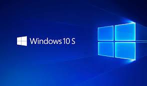 windows 10 s windows 10 home and windows 10 pro feature