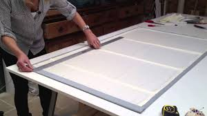 how to make a roman blind in 60 seconds youtube