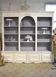 White Cottage Bookcase by Shabby Chic Bookcase