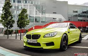 Bmw M3 Yellow Green - green