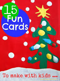 137 best christmas cards kids can make images on pinterest