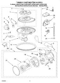 How To Clean A Whirlpool Dishwasher Drain Whirlpool Wp661658 Dishwasher Drain Pump Appliancepartspros Com