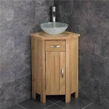 Cloakroom Corner Vanity Unit Freestanding Bathroom Cabinet Corner Vanity Unit Glass Bathroom