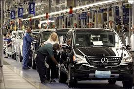 mercedes tuscaloosa the york times business image foreign carmakers set the pace