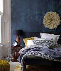 deco chambre adulte bleu 1001 idées créer une déco en bleu et jaune conviviale