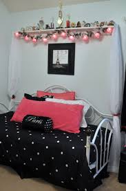 Bedroom Ideas For Teenage Girls Black And White Teenage Girls Paris Bedroom Ideas The Bed We Used The Day Bed