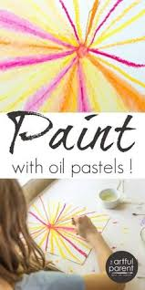 a basic oil pastel technique chart great for beginners use