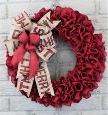 christmas burlap wreaths burlap christmas wreath christmas burlap