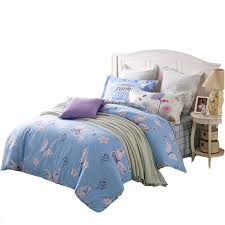 Light Blue Twin Comforter Butterflies Bedding Set Queen Twin Size Light Blue Duvet Cover