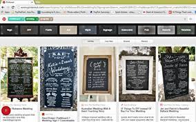 Chalkboard Wedding Program Diy Wedding Chalkboard Program U2014 According To D