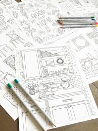 home design books 2016 24 best home decor coloring book images on coloring