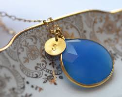 custom charm the color of the chalcedony is mesmerizing personalised