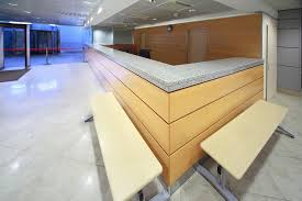 Granite Reception Desk Commercial Counter Tops Gw Surfaces