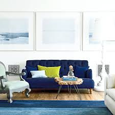 blue color living room beach house color ideas coastal living