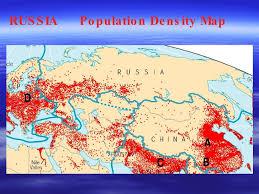 russia map by population united kingdom vs russia