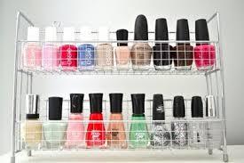 15 beautiful ideas to organise your nail polish u2013 jewelpie