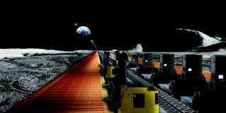 By The Light Of The Halloween Moon Solar Panels Grown On The Moon Could Power The Earth Popular Science