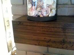 buy a handmade custom wood mantel shelf made to order from custom