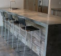 Kitchen Island Made From Reclaimed Wood Best 25 Reclaimed Wood Countertop Ideas On Pinterest Copper