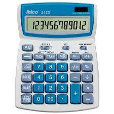 calculatrice bureau calculatrice de bureau ibico 212x 12 chiffres vente de