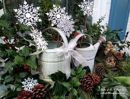 rustic watering cans windowboxes u0026 more our fairfield home u0026 garden