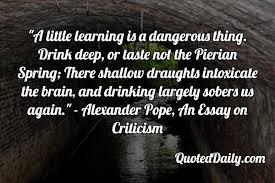 Alexander pope an essay on criticism   AutoSoumpasis Fractal Time Assignment