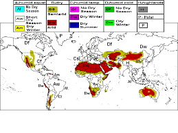 what is a climate map physical geography climatic regions