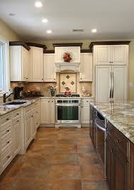 crown molding for top of kitchen cabinets kitchen traditional with