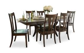covina table and 4 side chairs hom furniture furniture stores