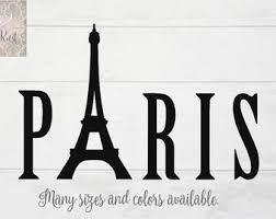 Eiffel Tower Room Decor Paris Wall Decor Etsy