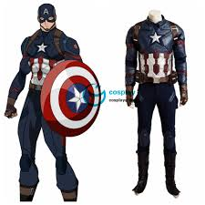 marvel captain america civil war steve rogers cosplay costume