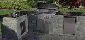 imposing lovely outdoor kitchen kits cambridge pavingstones