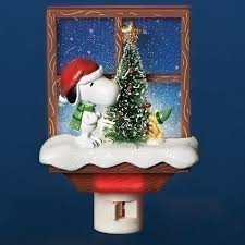 snoopy tree light light flicker candle lights