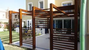 modern pergola unique design wooden pergola for modern backyard home using green