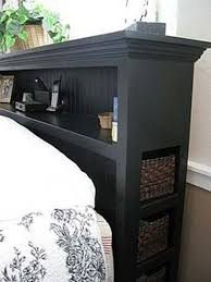 Diy Platform Bed Storage Ideas by Best 25 Storage Headboard Ideas On Pinterest Platform Bed