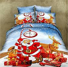 Santa Duvet Cover Cutest Christmas Comforters And Bedding Sets