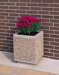 decorative outdoor containers commercial planters