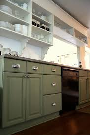 Painted Kitchen Cabinet Ideas Freshome Cabin Remodeling Painted Kitchen Cabinet Ideas Freshome Green
