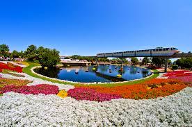 epcot flower u0026 garden festival monorail photo disney tourist blog