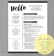 Word Formatted Resume 19 Best Resume Templates Images On Pinterest Resume Templates