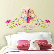 Disney Frozen Spring Time Headboard Wall Decals With