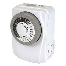 Intermatic 15 Amp Plug In by Christmas Christmas Light Timer Outdoor White Intermatic Timers