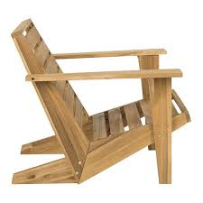 Adirondack Chair Wood Outdoor Adirondack Chair West Elm