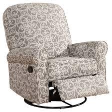 furniture grey rocking nursery recliner for home furniture ideas