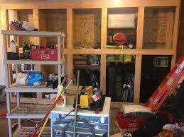 Diy Garage Storage Cabinets Furniture Custom Diy Wood Wall Mounted And Hanging Garage Storage