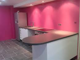 cuisine blanche mur framboise cuisine gris framboise photos de design d intérieur et