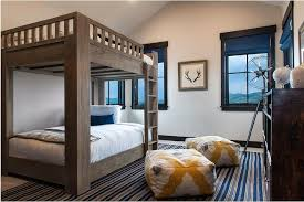 Cabin Bunk Room With Large Bunk Beds With Queen Matresses - Large bunk beds