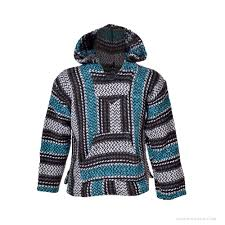 Mexican Rug Sweater Kids Mexican Baja Hoodie On Sale For 15 95 At The Hippie Shop