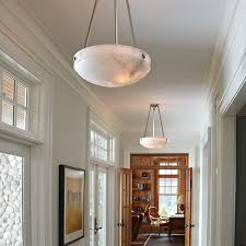 Pendant Lights For Hallways Tuscany Alabaster Pendants Light Hallway With Morris Fittings