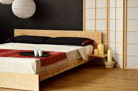 oriental platform bed frame walnut unusual platform bed frame